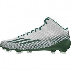 Adidas Adizero 5 Star 3.0 Mid Mens Football Cleats G98766 White-Green-Platinum