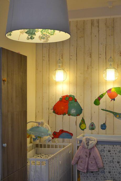Baby's room: wallpaper Piet Hein EEK 08