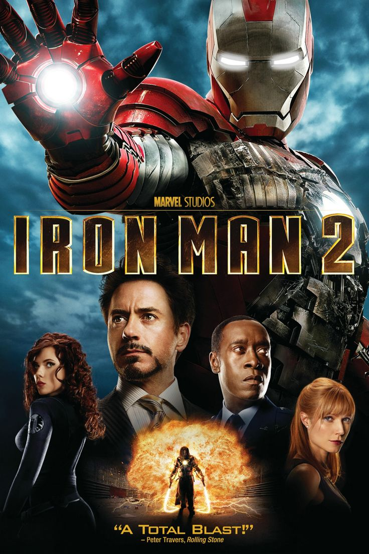 Iron Man 2 movie poster (2010)
