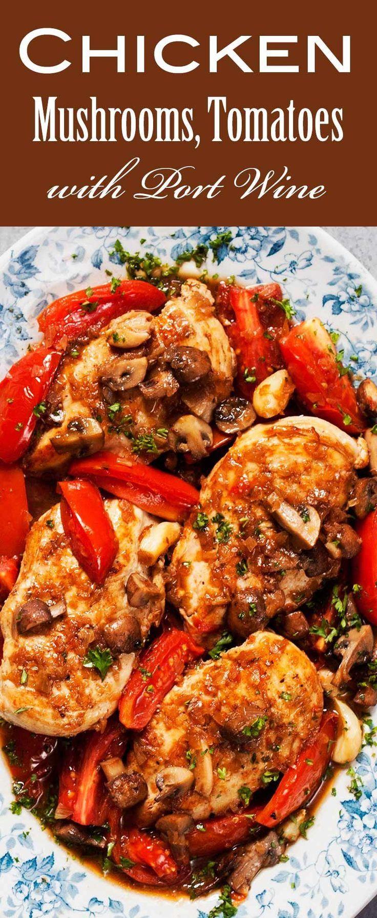 Pin On Chicken Mushroom Recipes