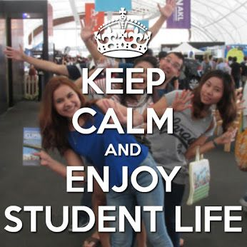 Happy Monday! #studentlife #keepcalm