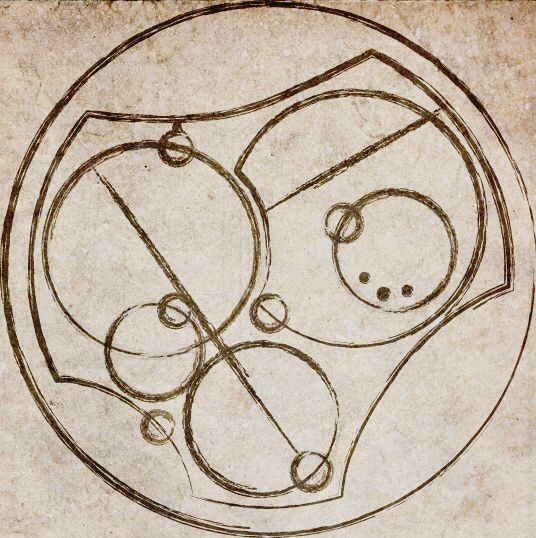 """Doctor Who: """"I love you"""" in Gallifreyan. Which is pronounced SILENTLY WITH A DRAMATIC FADE INTO THE AIR"""