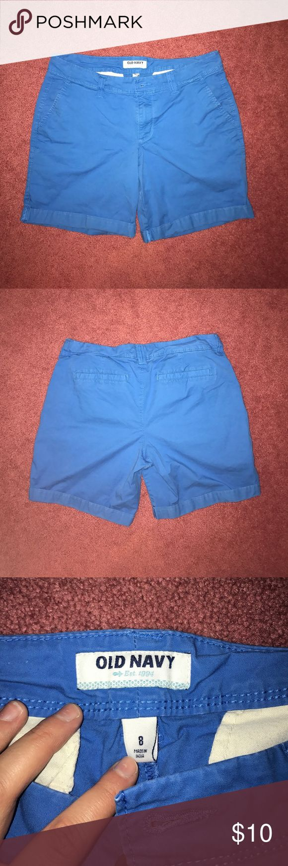 Cobalt blue Navy Blue Roll up Bermuda shorts Cobalt blue Navy Blue Roll up Bermuda shorts, size 8, gently used! Old Navy Shorts Bermudas