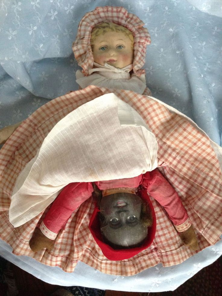 175 Best Dolls Topsy Turvy Images On Pinterest Doll