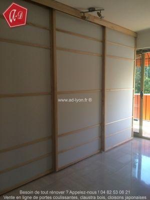 1000 images about cloison japonaise coulissante et porte on pinterest promotion cabinets and ps. Black Bedroom Furniture Sets. Home Design Ideas
