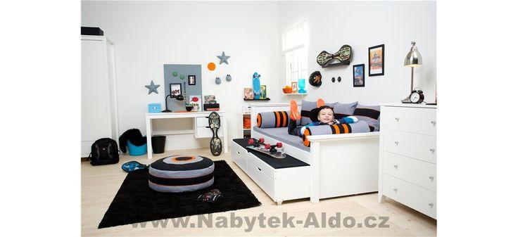 Dětský pokoj z masivu Skater-Deluxe