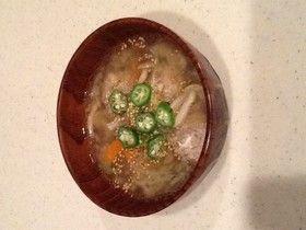 生姜が効いて旨!肉団子の塩麹和風スープ