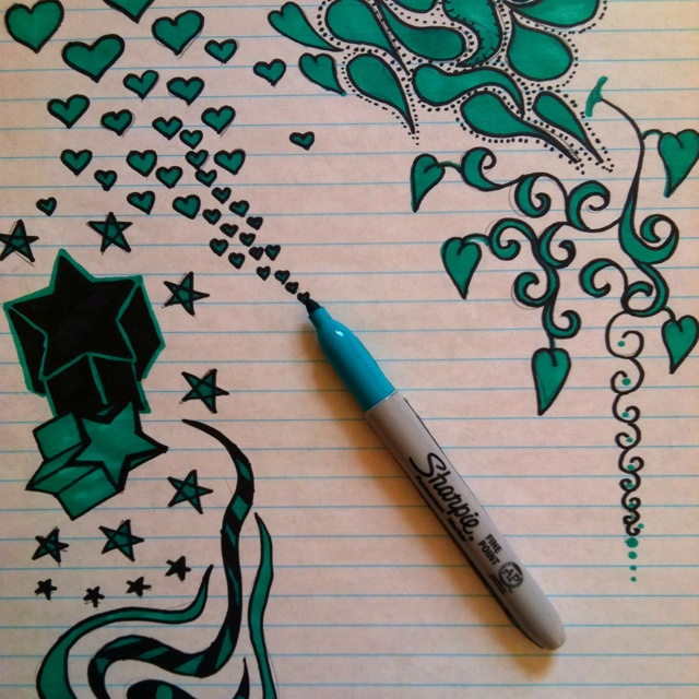 Welcome to the wonderful world of sharpies!