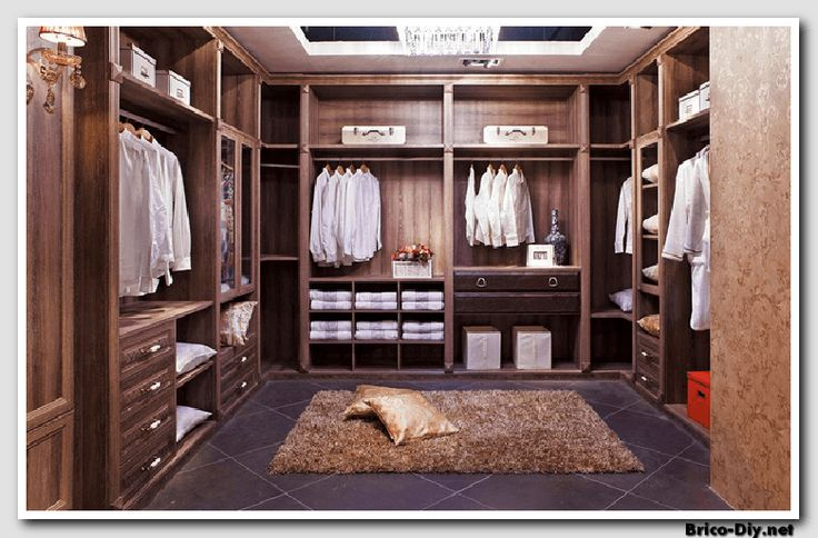 Walk in closet dise os modernos ideas para decorar y for Disenos navidenos para decorar puertas