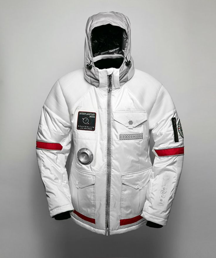 The Limited Edition Jacket from SPACELIFE -  Designed on Earth, Created for Space. Read More: http://thecoolfashion.com/2014/12/16/spacelife-designed-on-earth-created-for-space/