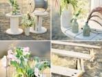 Spools! Ceremony Decor | Green Wedding Shoes Wedding Blog