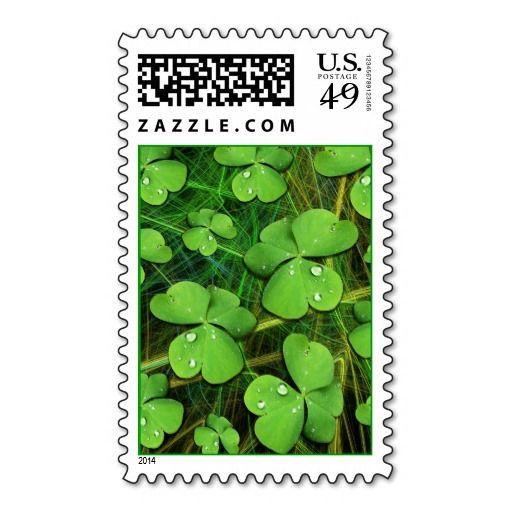 #Green #Shamrock #St_Patrick's Day #Postage #Stamp Sold on #Zazzle  http://www.zazzle.com/green_shamrock_st_patricks_day_postage_stamp-172881751531437575