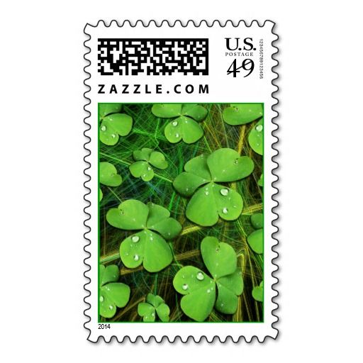 #Green #Shamrock #St_Patrick's Day #Postage #Stamp Sold on #Zazzle  http://www.zazzle.com/green_shamrock_st_patricks_day_postage_stamp-172881751531437575