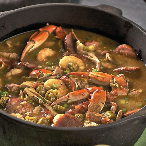 It's about that time of year when I get a jones on for some gumbo.#Repin By:Pinterest++ for iPad#
