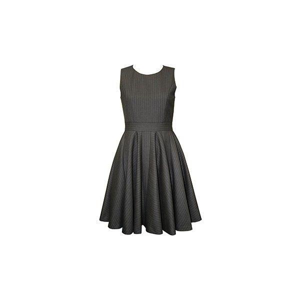 ストライプフレアワンピース | Lois CRAYON ❤ liked on Polyvore featuring dresses