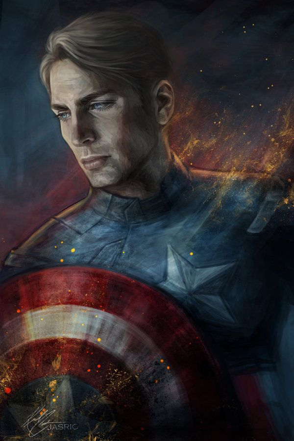 Captain America by jasric (jasric) on deviantART