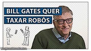 """Bill Gates: Robô que substitui você no trabalho deve pagar imposto  Gates um dos mais bem-sucedidos capitães da indústria da tecnologia não acredita que o mundo dos negócios vai conseguir por si só lidar com as inequidades geradas pela automação.  Enquanto engenheiros vão projetando robôs melhores que os humanos como modo de ganhar a vida - na esperança do emprego deles ser obliterado por último :P - alguém deveria estar pensando em dar uma """"regulada"""" nesses supremacistas da automação…"""