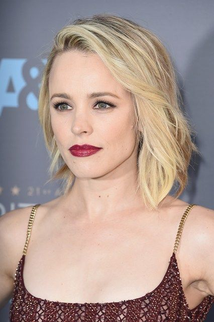 From Zoë Kravitz's luminous skin to Rachel McAdams's platinum hair and scarlet lips, see the beauty that stood out at the Critics' Choice Awards