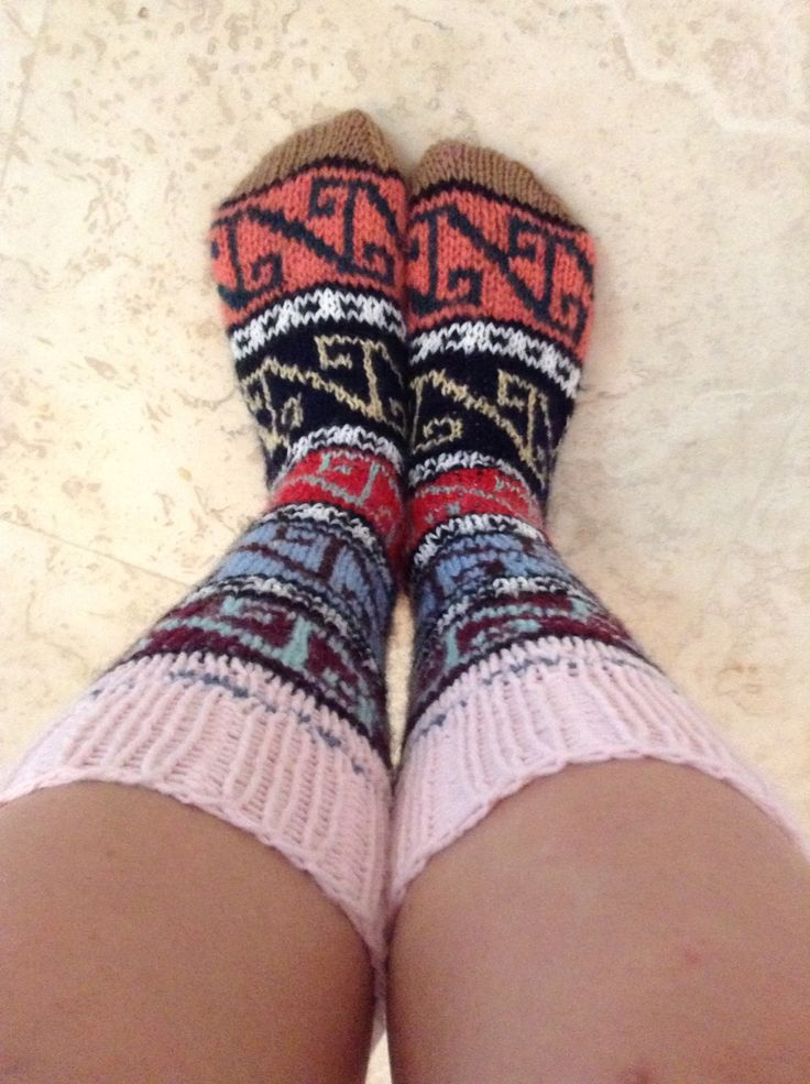 My new socks.