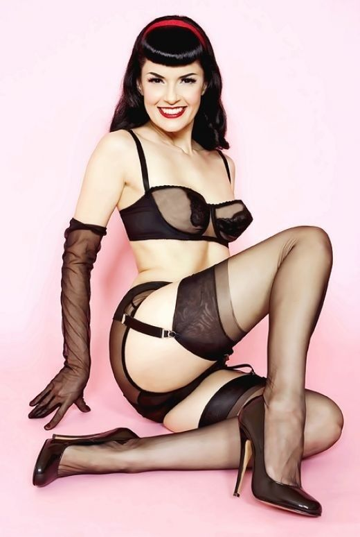 Pinup Style Lingerie 8