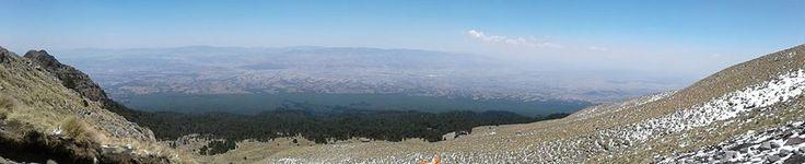 Panoramica de Tlaxcala desde el volcan la Malinche foto de Zamo Perez
