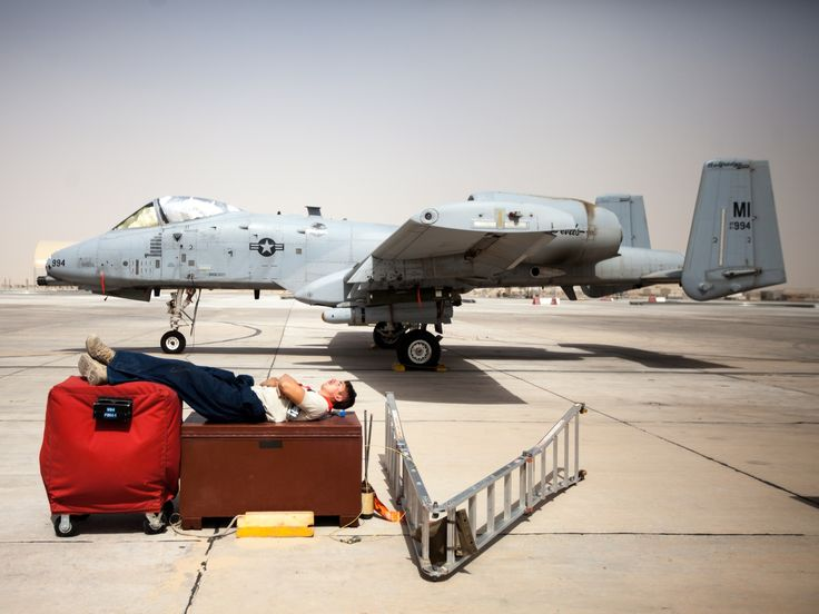 A photo book project on a deployed maintenance group for the A-10 Warthog, from the perspective of a 127th Wing crew chief.