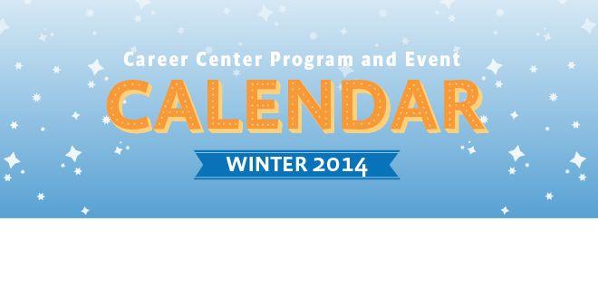 2014 Career Center Program and Event Calendar. Click the link #sjsu #helpingandcaring