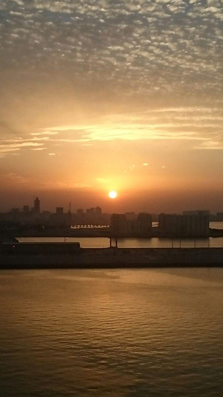 Doha al tramonto