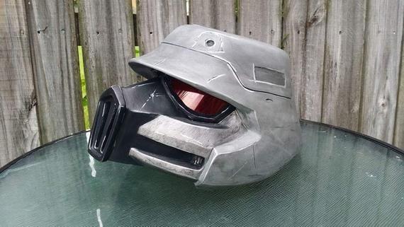 Borderlands Crimson Lance Helmets New Helmet Smooth Cast Crimson