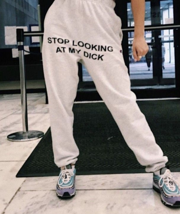Lovedusts Stop Looking at My Dick Mens Jogger Sweat Pants