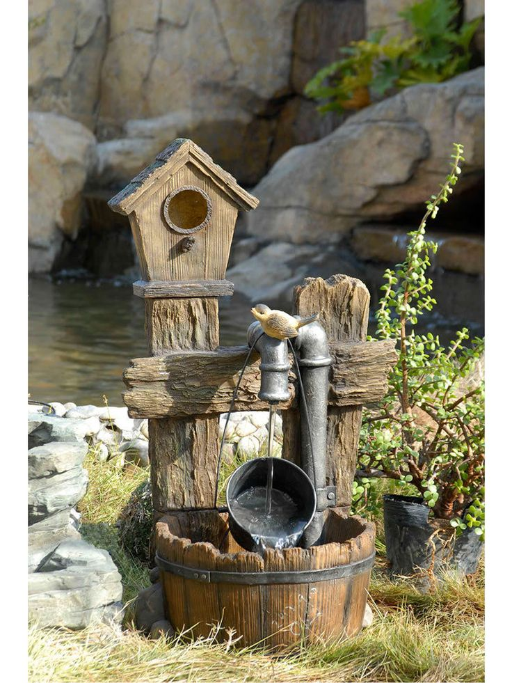 Water Fountain Garden: 17 Best Images About Water Fountains On Pinterest