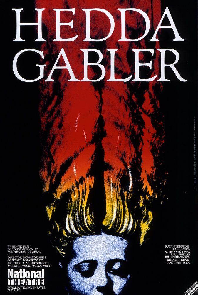 Hedda Gabler | National Theatre poster