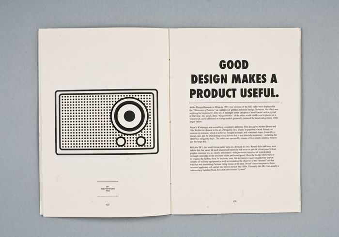 Good design makes a product useful