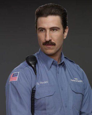 George Mendez - Orange is the New Black, OITNB, great tv, Netflix, moustache, prison guard, powerful face, intense eyes, portrait