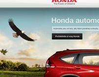 Honda.cz - microsite