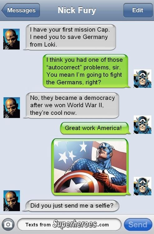 Texts from Superheroes Part 2 - Imgur
