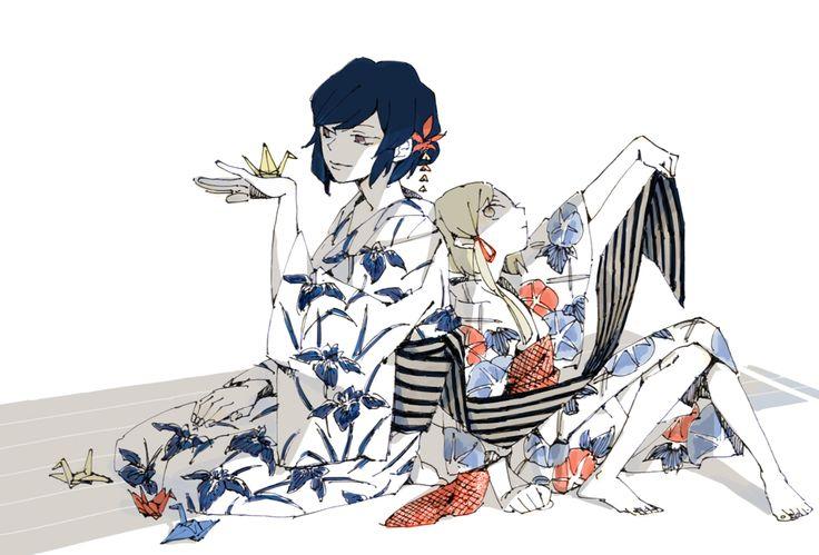 Kanako Yasaka - Suwako Moriya - Touhou 10 - KanaSuwa - ships