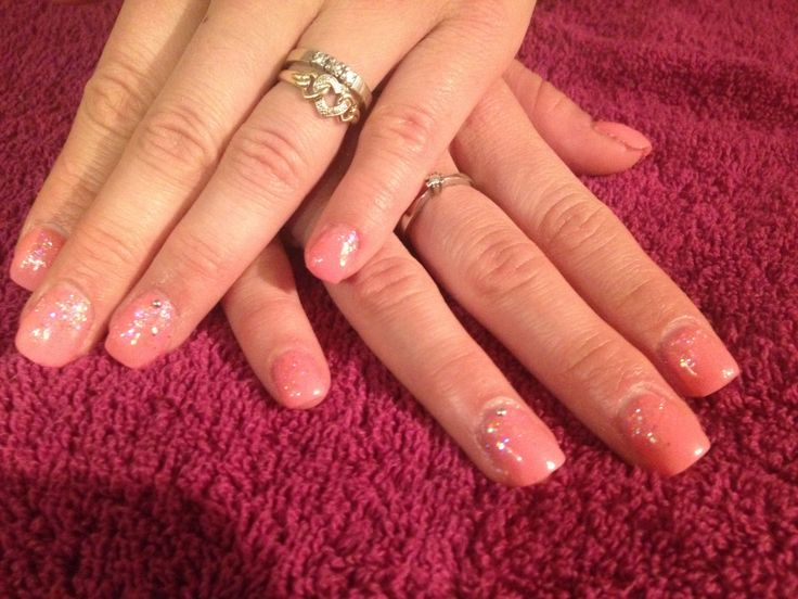 Harmony gel nail extensions with depend gellack and ...