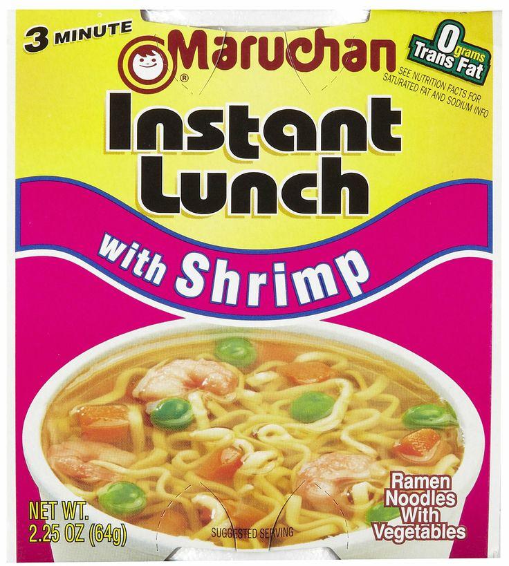 maruchan ramen noodles | Maruchan Ramen Shrimp Flavor, 2.25 oz, 12 ct - Free Shipping