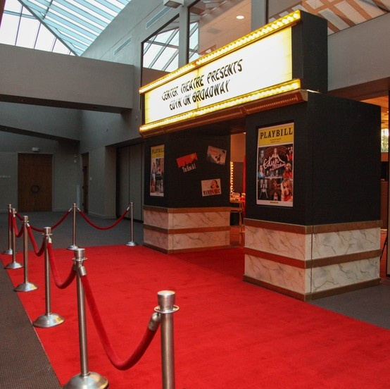Broadway theme Bat Mitzvah | Theater Marquee Entrance