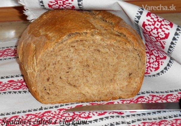 Špaldový chlieb s ovsenými vločkami (fotorecept)
