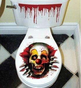 Clown Toilet Seat Lid