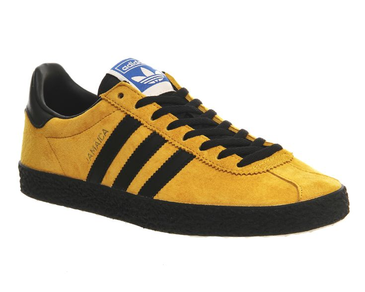 Adidas, Jamaica Island Series, Bold Gold Core Black