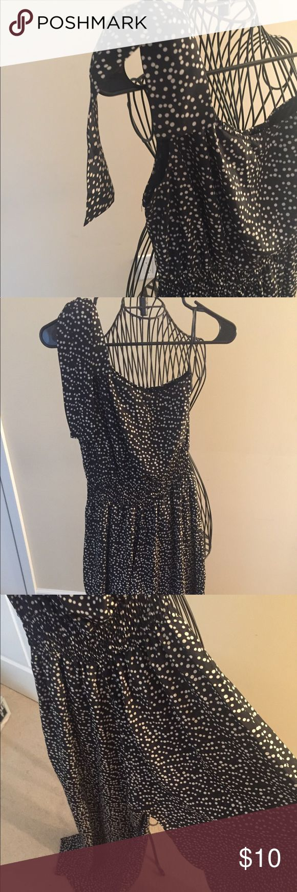 Polka dot jumper Polka dot black and white jumper size 10 but runs smalls. Would fit a size 6/8 Other