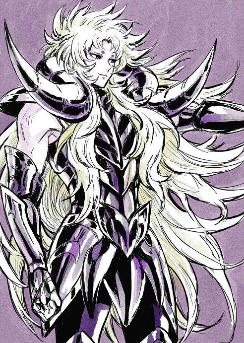 聖闘士星矢 Saint Seiya fanart : Aries Shion / 牡羊座のシオン