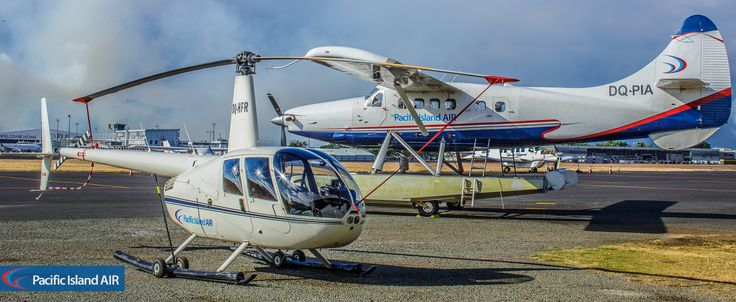 PIA R44 and DHC-3 Otter