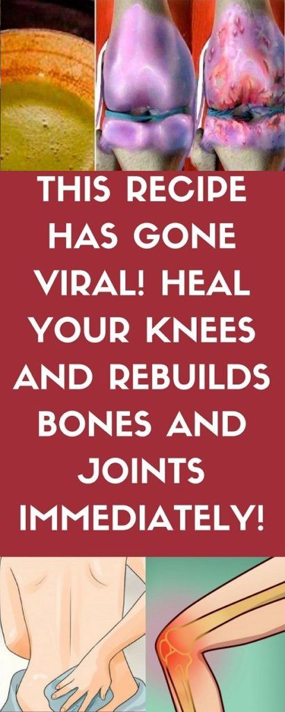 THIS RECIPE HAS MADE ALL DOCTORS CRAZY! IT HEALS YOUR KNEES AND RECONSTRUCTS BONES AND JOINTS IMMEDIATELY - Inspire Beauty Care-As we age, our organs and body as a whole start to deteriorate, which results in many age-related conditions. Bone and joint pain are one of the most common body aches with the passage of time. Many people consider it untreatable and try to soothe the pain with painkillers and other medications, but there is ...