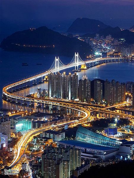 Busan, South Korea is South Korea's second largest metropolis after Seoul, with a population of approximately 3.6 million.