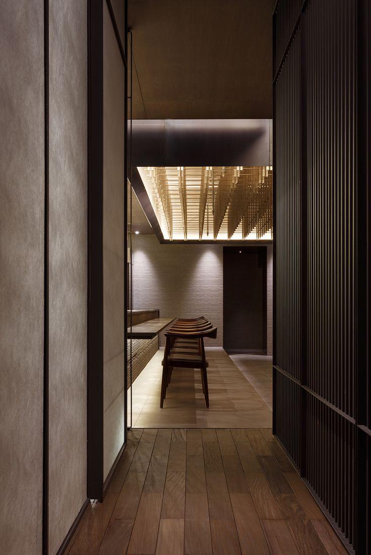 Kappo Ku restaurant in Seoul Taiwan by Betwin Space Design
