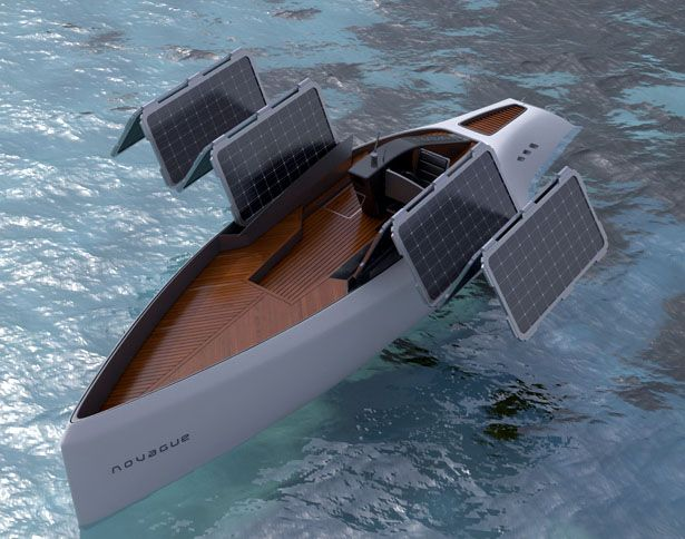 1000 Images About Solar Powered Boats On Pinterest